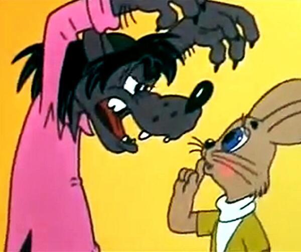 Волк и Заяц (скрин)