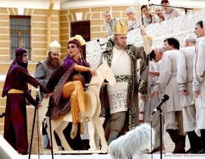 Фестиваль «Опера всем» в Санкт-Петербурге. Можно ли играть оперный спектакль прямо на улице? Часть 1