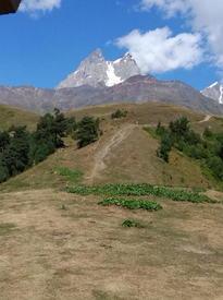Сванетия. Неприступная гора Ушба— 4700м над уровнем моря