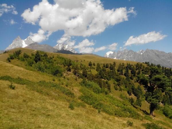Сванетия. 2500м над уровнем моря. И это еще не предел
