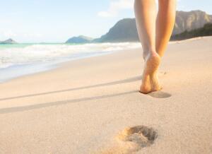Как сохранить красоту ног?