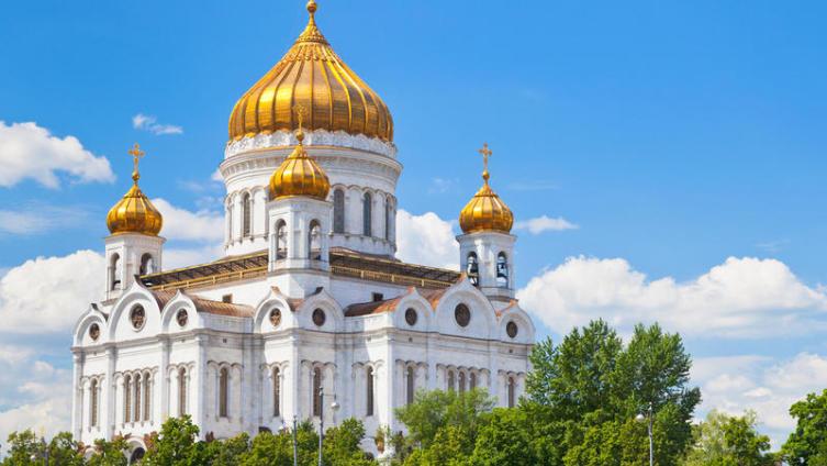 Храм Христа Спасителя, Москва, Россия