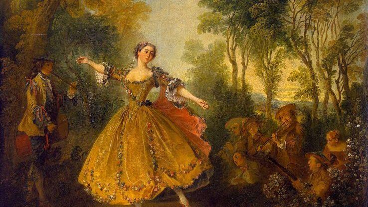 «Танцовщица Камарго»