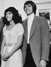 Карен и Ричард Карпентеры в Белом доме