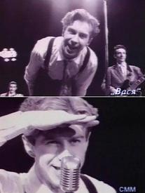 Кадры из клипа «Вася».