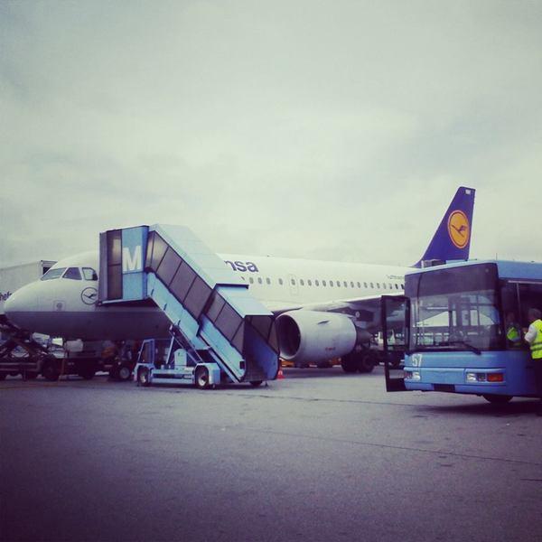 Аэропорт Берлина, Тегель, авиакомпания Lufthansa