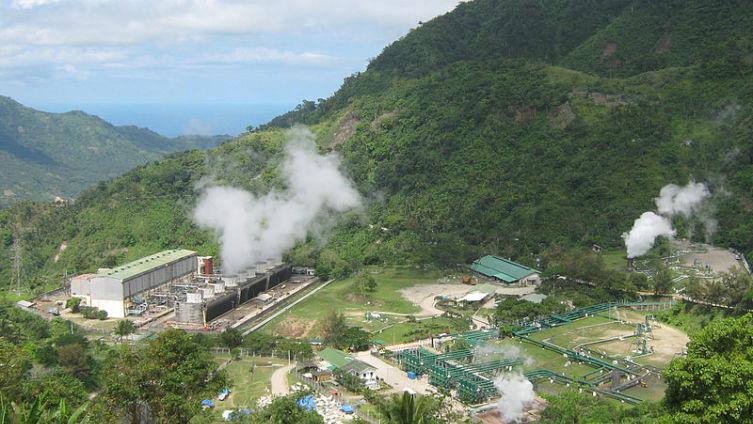 Геотермальная электростанция на Филиппинах