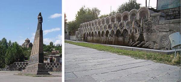 Армения, Сисиан, памятник голубке
