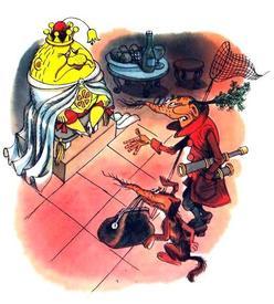 Принц Лимон и сыщик Моркоу.