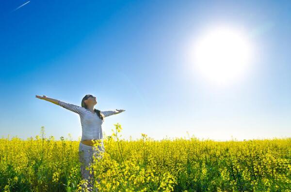 Гимнастика с солнечным светом. Что это даёт?