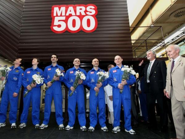 Участники имитации полета на Марс