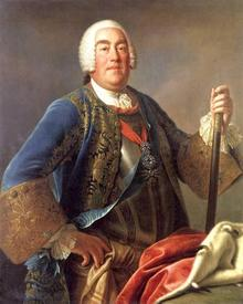 Август III (1696 — 1763) курфюрст саксонский, король польский
