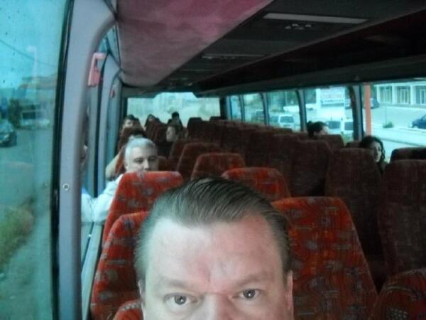 В общественном автобусе на Родосе