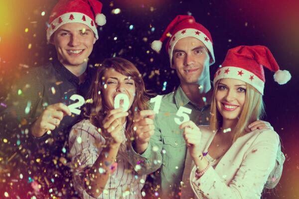 Как встретить Новый год в отличной форме?