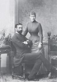 Луи Александр Баттенберг и Виктория Гессенская накануне свадьбы