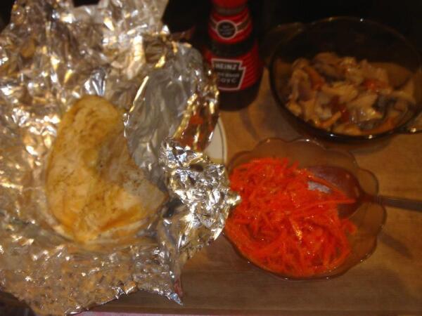 Ингредиенты для салата с морковкой по-корейски