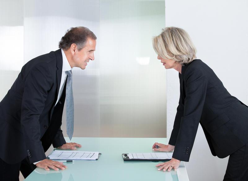 как сотрудничать с агрессивным коллегой
