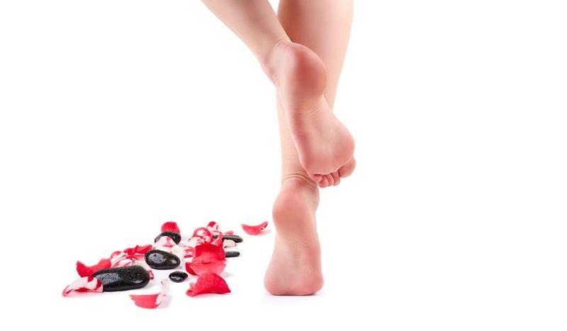 красивое фото пятки ноги