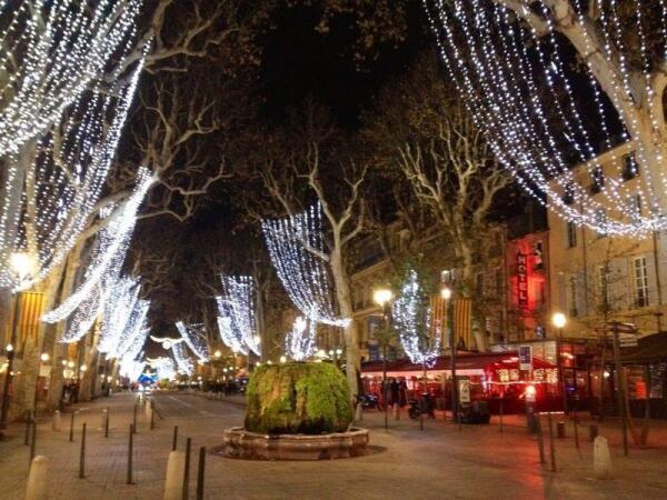 Бульвар Мирабо (Cours Mirabeau), Экс-ан-Прованс
