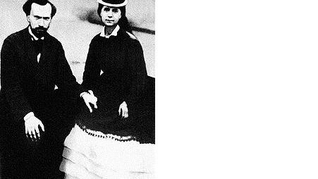 Женни Маркс с мужем Шарлем Лонге