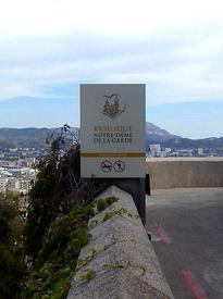 Смотровая площадка у Базилики Норт-Дам де ля Гард, Марсель