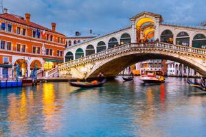 Венеция, вода, мосты...