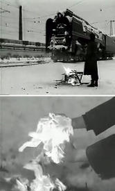 Кадры из клипа «Мусорный ветер».