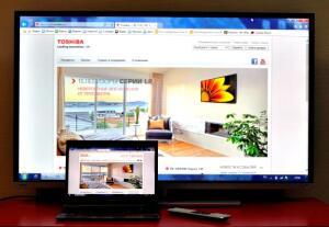 Как передать изображение с ПК на экран телевизора?