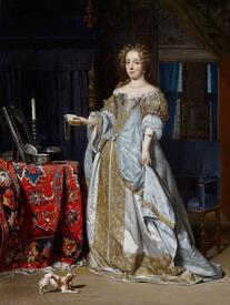 Габриэль Метсю, Портрет леди, 1667  57х 43 см Minneapolis Institute of Arts, США