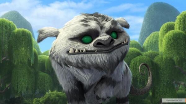 Кадр из мультфильма «Феи: Легенда о чудовище»