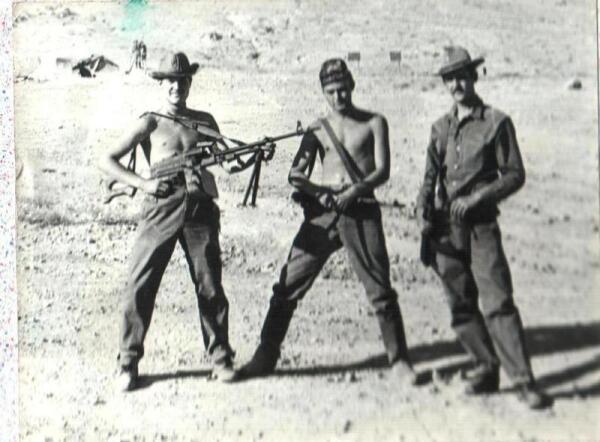 Военнослужащие нашего батальона