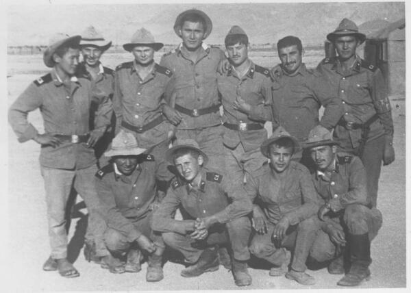 Солдаты батальона