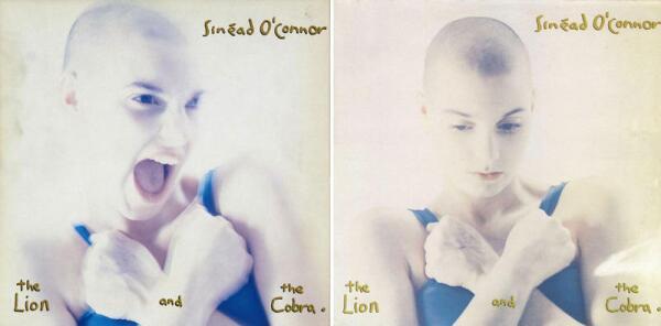 Обложку «The Lion and the Cobra» украсило фото певицы с гримасой взбешённой кошки. Правда, в США решили, что это слишком отталкивающее и выпустили альбом с другим фото - умиротворённым.