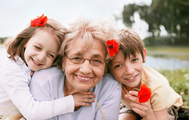 смотреть бабушка с внуком