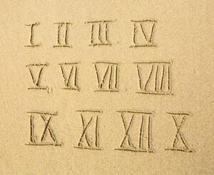 Кто придумал римские цифры? Часть 1