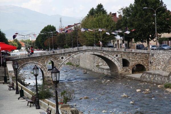 Древний каменный мост через Быстрицу