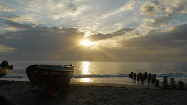 Ямайка. Местный колорит, рыбацкая деревня