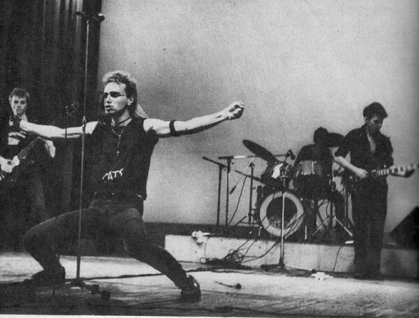 Концерт АЛИСЫ 1986 года.