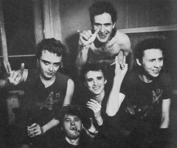 АЛИСА в 1986 году: Кинчев, Самойлов, Шаталин, Нефедов, Кондратенко.