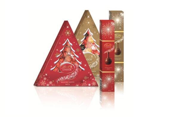 Попробуем новогоднюю ёлочку из шоколада? Новинка от Lindt