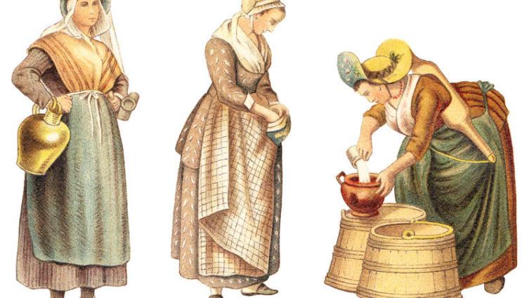 Средневековая Европа. Какую одежду  носили в Средние века?