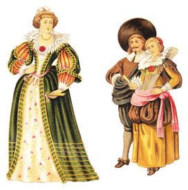 Средневековая Европа. Какую одежду носили в Средние века    Культура ... 5b35d787581