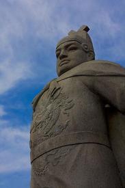 Статуя Чжэн Хэ в Малакке, Малайзия