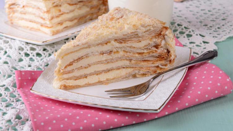 Что испечь на Новый год? Торт Наполеон