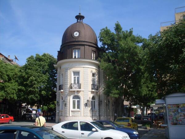 Центр курорта Поморие