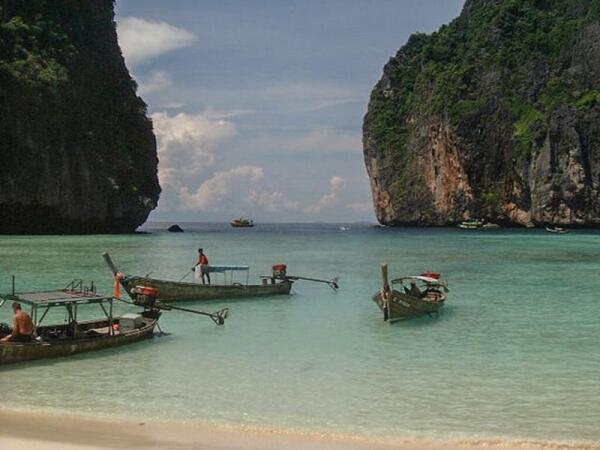Бухта Maya Bay