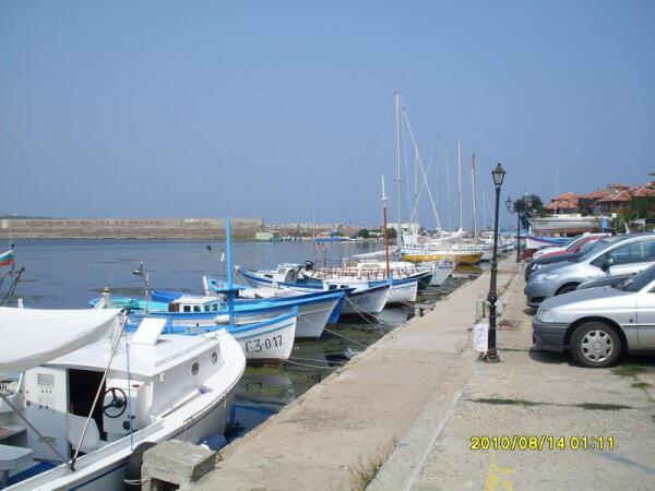 Набережная в районе морского порта
