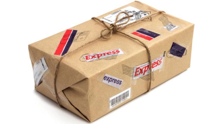 Существует ли доставка почты ракетами?