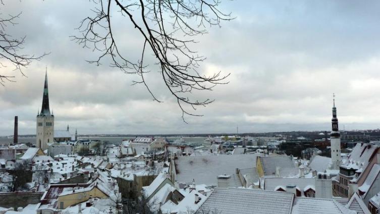 Таллин: вид со смотровой площадки