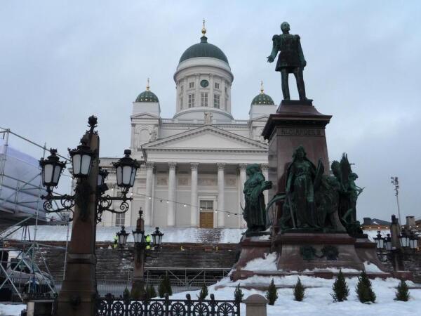 Хельсинки: Сенатская площадь